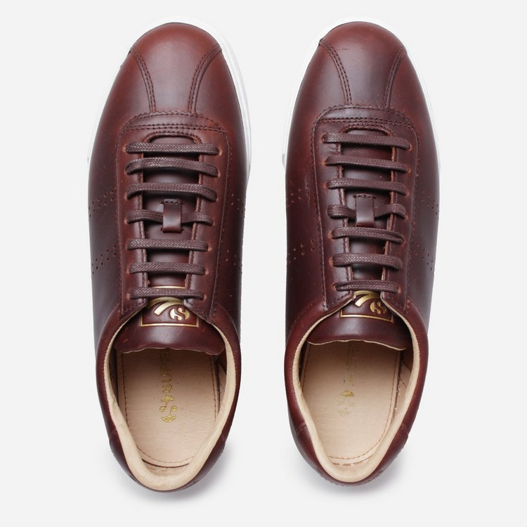 SUPERGA Club S Brushed Leather