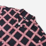 Stussy Hand Drawn Plaid Shirt