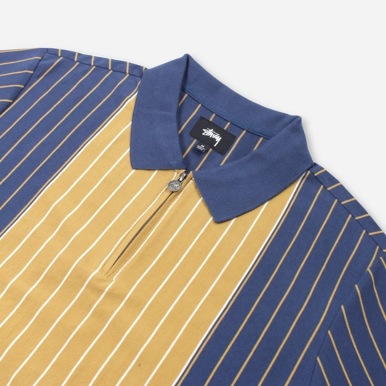 Stussy Tivoli Stripe Polo Shirt