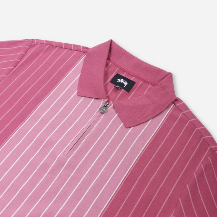 Stussy Tivoli Stripe Polo Shirt