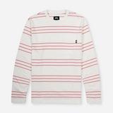 Stussy Trinity Stripe Long Sleeved T-Shirt