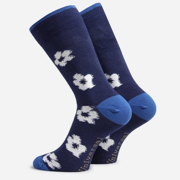 Universal Works 3 Pack Flower Socks