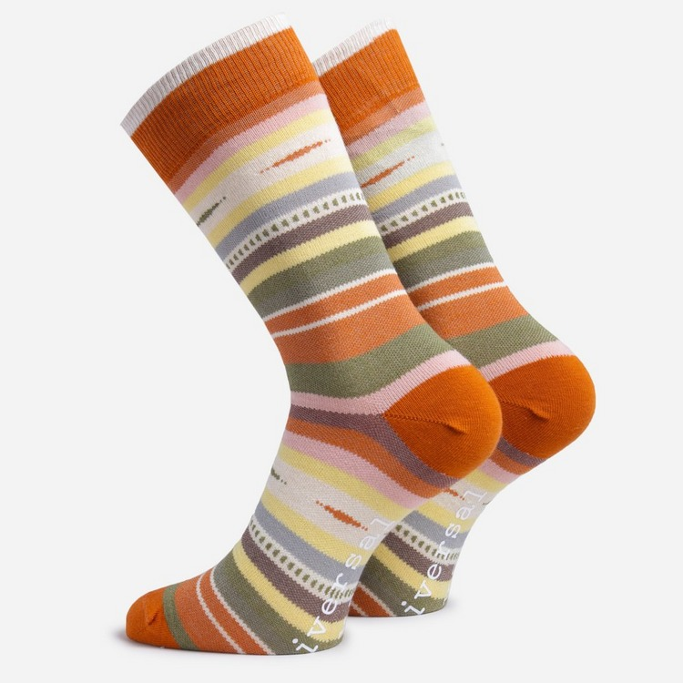 Universal Works Blanket Stripe Socks