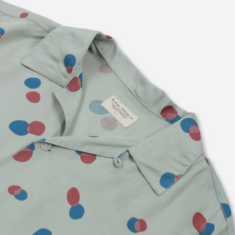 Nudie Jeans Co. Arvid Random Dots Shirt