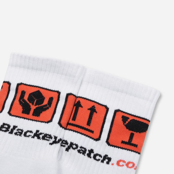 BlackEyePatch Handle With Care Socks