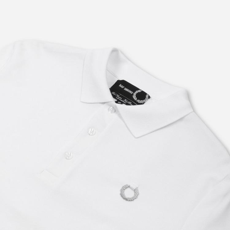 Fred Perry x Raf Simons Yoke Print Polo Shirt