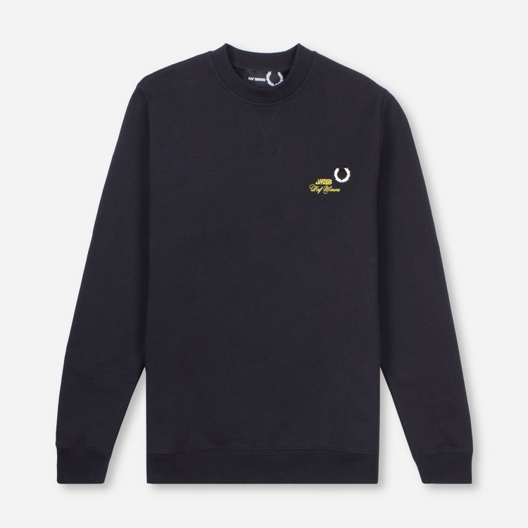 Fred Perry x Raf Simons Laurel Wreath Detail Sweatshirt