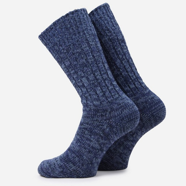 RoToTo Denim Tone Crew Socks