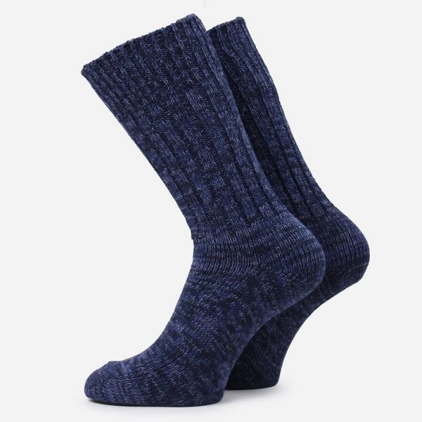 RoToTo Denim Tone Crew Socks