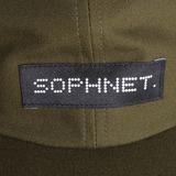 Sophnet Cotton Canvas Cap