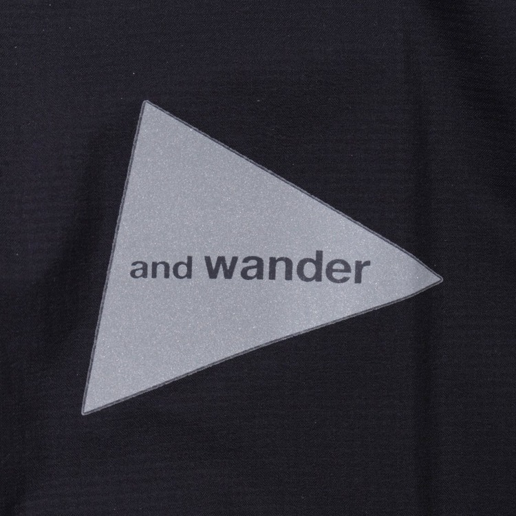 and wander Pertex Wind Pullover Jacket