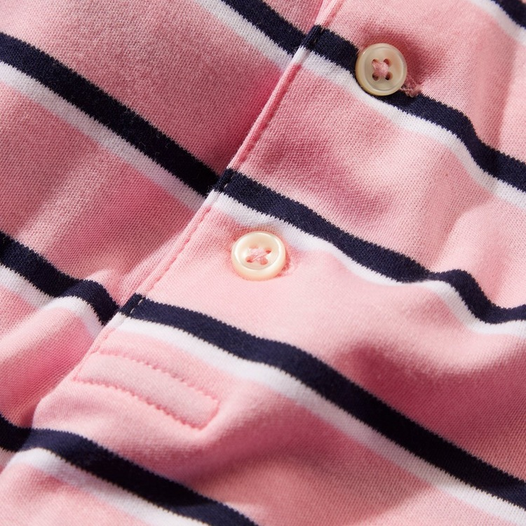 Polo Ralph Lauren Pima Stripe Short Sleeve Polo Shirt