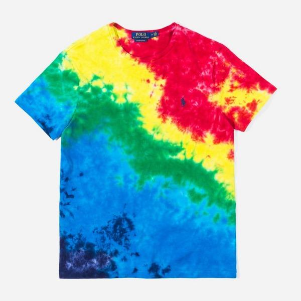 Polo Ralph Lauren Tie Dye Custom Fit T-Shirt