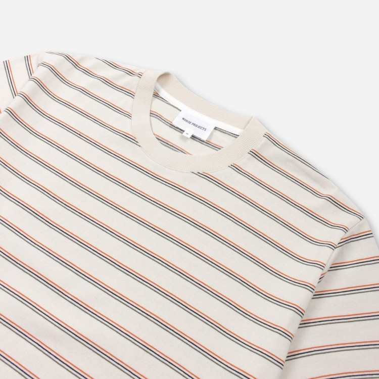 Norse Projects Johannes Stripe Short Sleeve T-Shirt