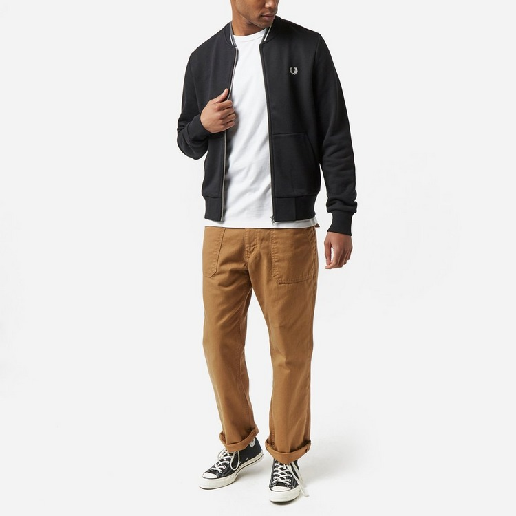 Fred Perry Zip Through Sweatshirt