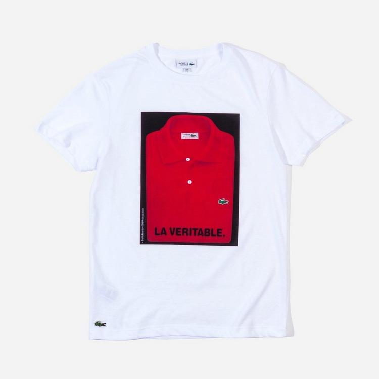 Lacoste Polo Print T-Shirt