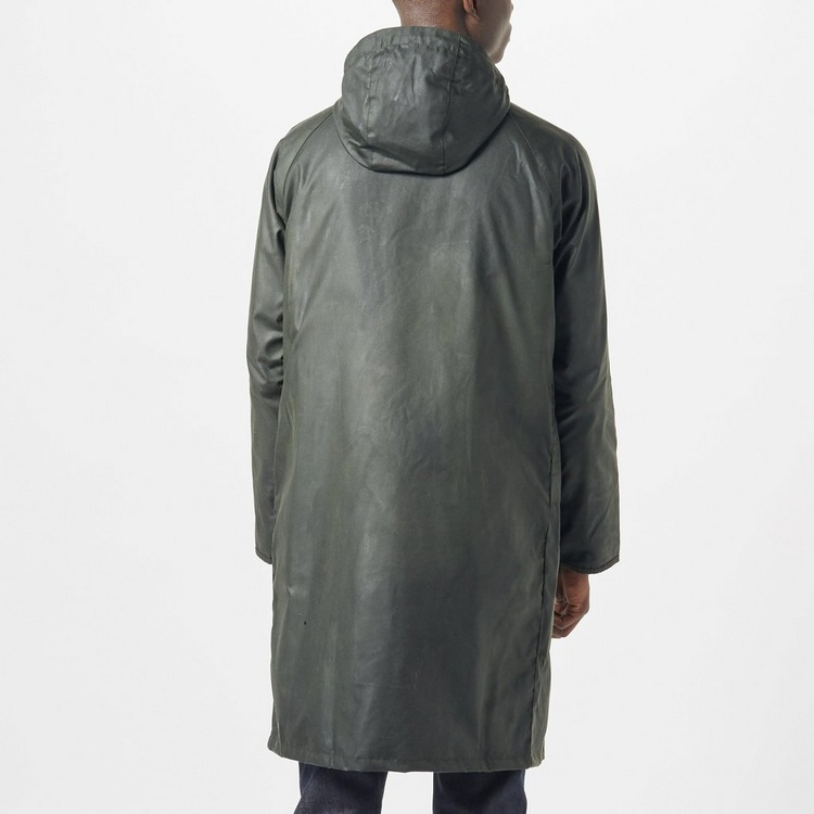 Barbour Long Wax Parka Jacket
