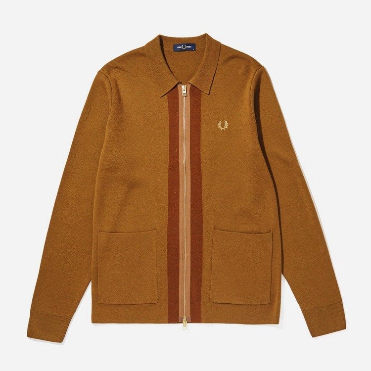 Fred Perry Zip Through Cardigan