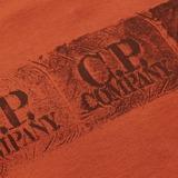 C.P. Company 3 Stamp Logo T-Shirt