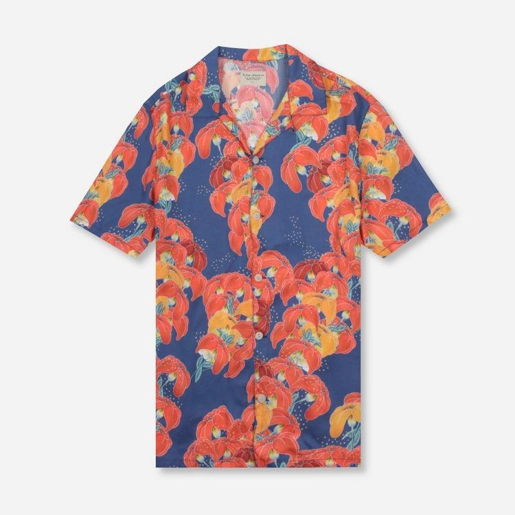 Nudie Arvid Flowers Shirt