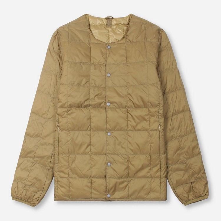 Taion Crew Neck Button Down Jacket