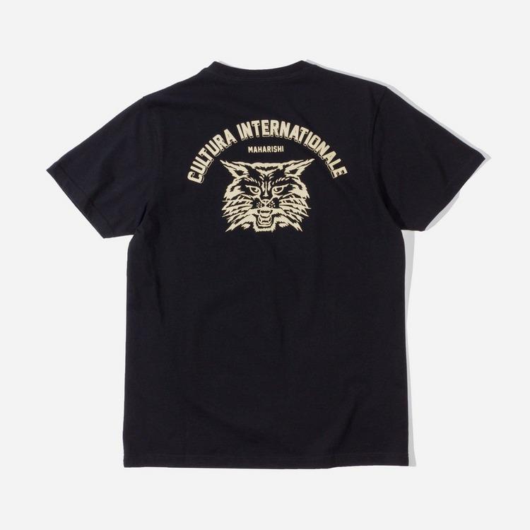 Maharishi Cultura Cat Organic T-Shirt