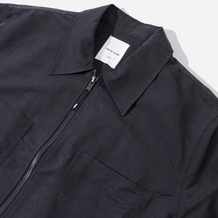 Wood Wood Egon Zip Overshirt