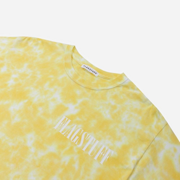 Flagstuff Tie Dyed Fade Away Long Sleeved T-Shirt