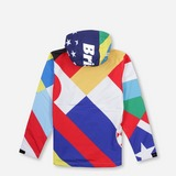FC REAL BRISTOL Flag Pattern Jacket