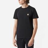 Maison Kitsune Fox Head Patch T-Shirt