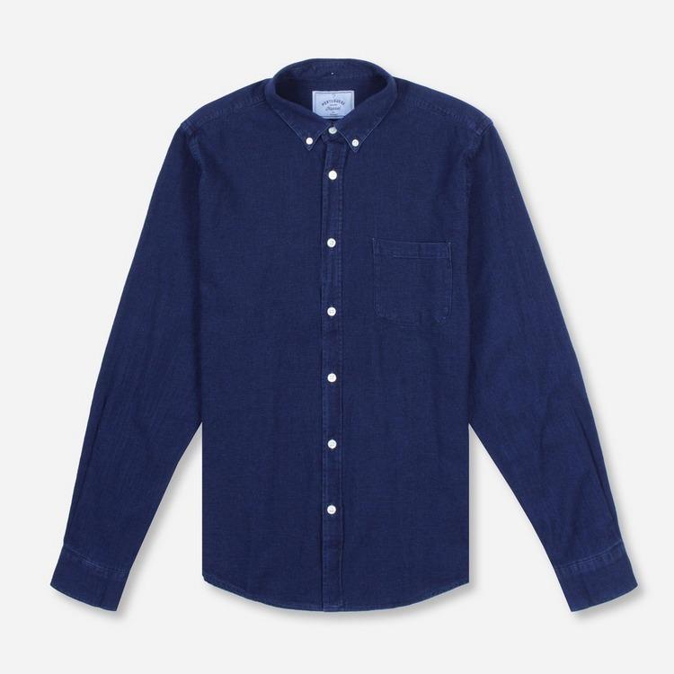 Portuguese Flannel Indigo Shirt