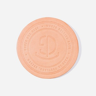 Tanner Goods Leather Coasters