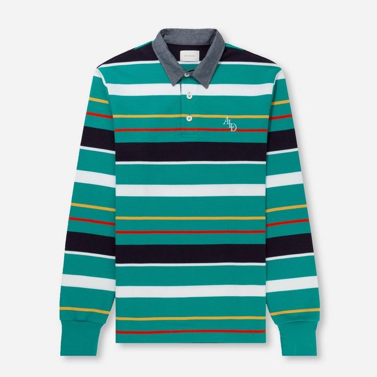Aime Leon Dore Long Sleeved Pique Polo