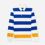 Aime Leon Dore Long Sleeved Striped Polo