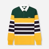 Aime Leon Dore Long Sleeved Striped Rugby Polo