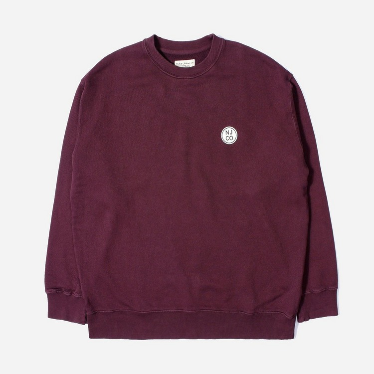 Nudie Jeans Co. Lukas Logo Sweatshirt
