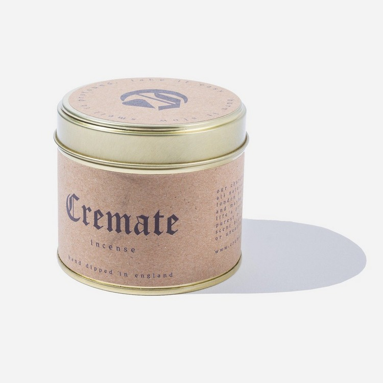 Cremate Middle Way Incense Tin 30 Pieces