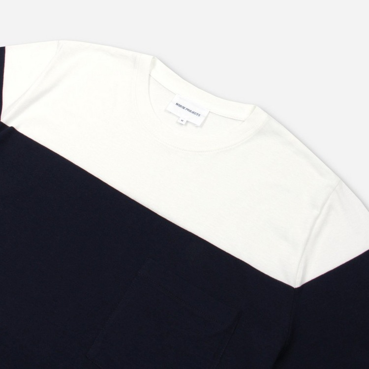 Norse Projects Niels Colour Block T-Shirt