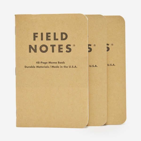 Field Notes Og Mixed 3 Pack Memo