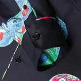 Soulland Richman Long Sleeved Silk Shirt