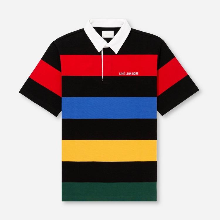 Aime Leon Dore Stripe Polo Shirt