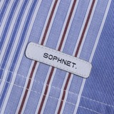 Sophnet Stripe Split Wide T-Shirt