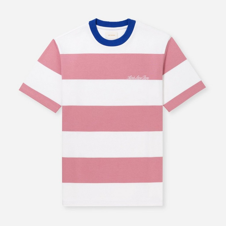Aime Leon Dore Thick Striped T-Shirt