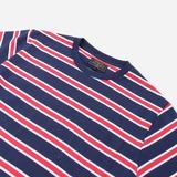 Beams Plus Tri Coloir Stripe T-Shirt