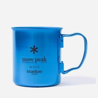 Snow Peak Titanium Cup Single Wall 450