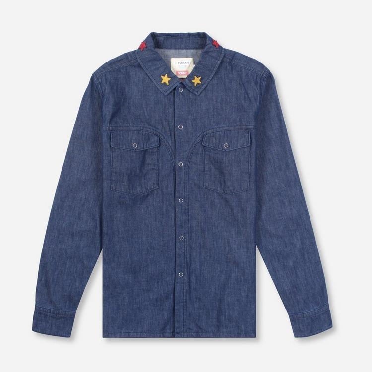 YMC x Farah Denim Shirt