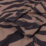 BlackEyePatch Zebra Striped Jacket