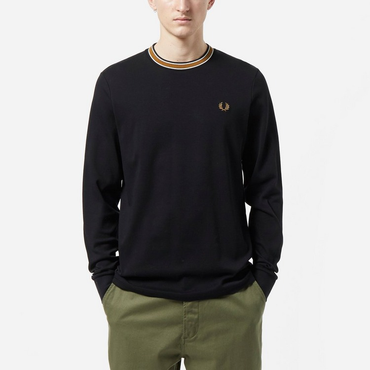 Fred Perry Tramline Tipped T-Shirt