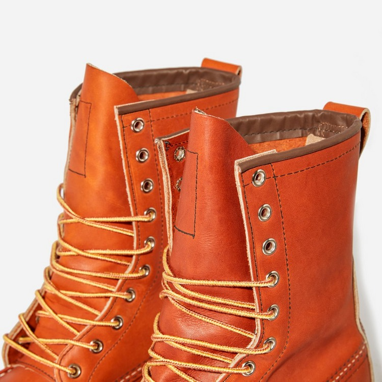 """Red Wing 877 8"""" MOC TOE BOOT"""