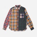 Beams Plus B.D Multi Pattern Shirt